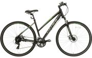 *SAVE £66* Carrera Crossfire 2 Womens Hybrid Bike - Black - S, M, L Frames