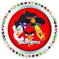 Angry Birds Dinner Plate Kids Children Plastic Melamine Plate - 21 Cm