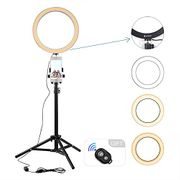 """10.2"""" LED Selfie Ring Light Down From £25.99 to £12.99"""