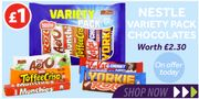 Nestle Variety 6 Pack *AMAZING VALUE At ONLY £1