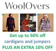 Woolovers Sale - Get an Extra 10% off the Sale Prices