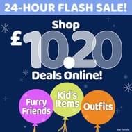24 Hour Flash Sale £10.20 Deals Online
