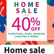 HOME SALE up to 40% OFF!