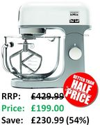 DEAL! Kenwood kMix Stand Mixer Down From £429.99 to £199