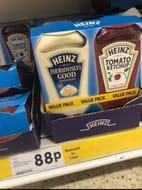 Bargain Twin Pack Heinz Sauces