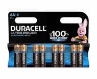 Duracell Duralock Ultra Power AA Pack of 8