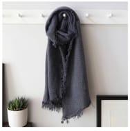 Special Offer - Sparkle Blanket Scarf in Dusky Blue