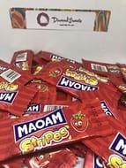 100 X Haribo Maoam Stripes -Strawberry
