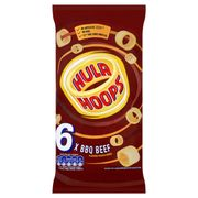 Hula Hoops Bbq Beef Flavour at Tesco Pack of 6 Now £1