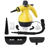 Handheld Pressurized Steam Cleaner with 9-Piece Accessories