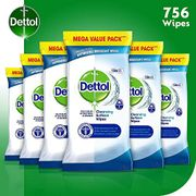 Best Price! Dettol Wipes Antibacterial Bulk Surface Cleaning, Multipack