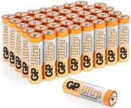 Pack of 40 GP AA Batteries