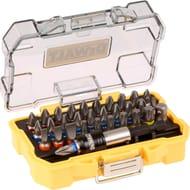 Dewalt Magnetic Bit Holder and 32 Screwdriver Bits - £9.98 + Free C&C