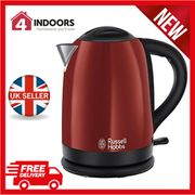 Russell Hobbs 20092 Dorchester 1.7L Kettle Rapid Boil in Red, Free Delivery!