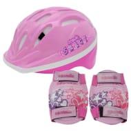 Cosmic Bike Helmet and Pad Set Childrens