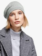 John Lewis Plain Knitted Beret (Grey, Teal or Red)