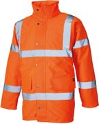 Dickies Orange Hi Vis Motorway Jacket (SA22045NG)