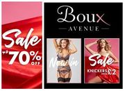 Boux Avenue SALE - up to 70% off Bras, Knickers, Nightwear & Lingerie