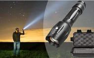 50% off 1km Military-Grade Flashlight & 5pc Accessory Box (+P&P)