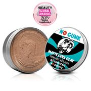 NO GUNK 100% Natural Hair Styling Clay for Men - Strong Hold - Matte Finish