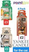 Yankee Candle Fragrance - for the Car.