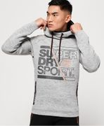 Superdry Gym Tech Stretch Graphic Hoodie Half Price
