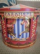 Carousel Musical Biscuit Tin - Save £9