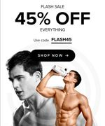 45% off Everything at Bulkpowders