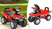 Kids' Ride-on Quad Bike with Musical Horn & Lights!