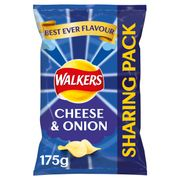 Walkers Cheese & Onion Sharing Bag Crisps 175G - 40% Off!