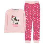 CRAFTED ESSENTIALS Design PJ Set Unisex Childrens