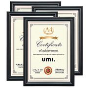 Essentials A4 Picture Photo Frames Certificate Holder Wall Hanging