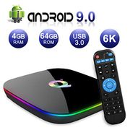 Sidiwen Android 9.0 TV Box Q plus Smart Media Box