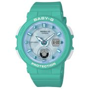 Casio Baby G Ladies Aqua Rubber Strap Watc