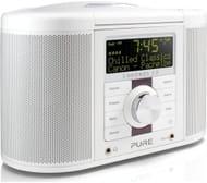 *SAVE £30* PURE Chronos CD Series II DAB/FM Radio - White/Black
