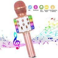 Zanfee Wireless Karaoke Microphone