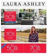 Laura Ashley SALE - 50% off + 10% off HOME, 70% off FASHION