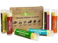 USDA Organic Lip Balm by Sky Organics - 6 Pack Assorted