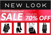 NEW LOOK JANUARY SALE - up to 70% off - from £1