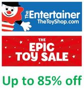 EPIC TOY SALE at the Entertainer - up to 85% OFF
