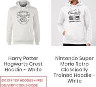 Star Wars, Back to Future, Nintendo, Marvel Sweatshirts Code HOODIE Free Del