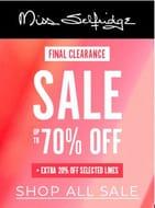 MISS SELFRIDGE SALE - Final Clearance - 70% + 20% Deals!