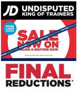 JD Sports Biggest Ever Sale FINAL REDUCTIONS - Nike, Adidas, Under Armour