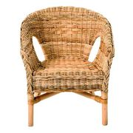 Java Wicker Chair - Brown C & C