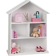 Mia White Dolls House Bookcase - Save £10!