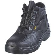 SITE SLATE STEEL TOE CAP SAFETY BOOTS BLACK- Various Sizes