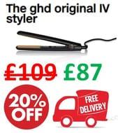 The Ghd Original IV Styler - Hair Straightener