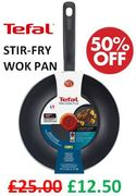 TEFAL Precision plus StirFry WOK Pan 28cm with 50% Discount - Great Buy!