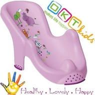 "Anatomic Baby Bath Support Chair Tub Seat ""Hippo"" Keeper Brand NEW Purple"
