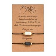 Matching Cord String Bracelet Gift